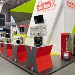 stoisko Pellas X na targach Instalacja 2014