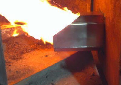 palnik na pellet w kotle Ciechowicz