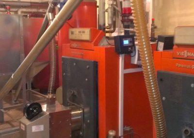 Modernizacja kotła Viesmann z palnikami na pellet