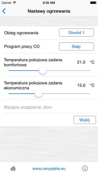 Zrzut ekranu iphone ios - Kostrzewa
