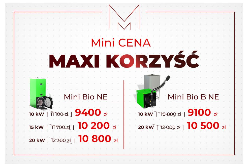 Promocja Mini cena Maxi korzyści