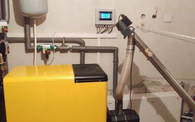 Budowa kotłowni automatycznej na pellet